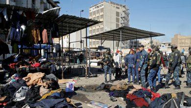 Photo of 32 شهيداً وأكثر من 100 جريح بتفجير انتحاري مزودج وسط بغداد